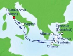 2020 Mediterranean Odyssey itinerary