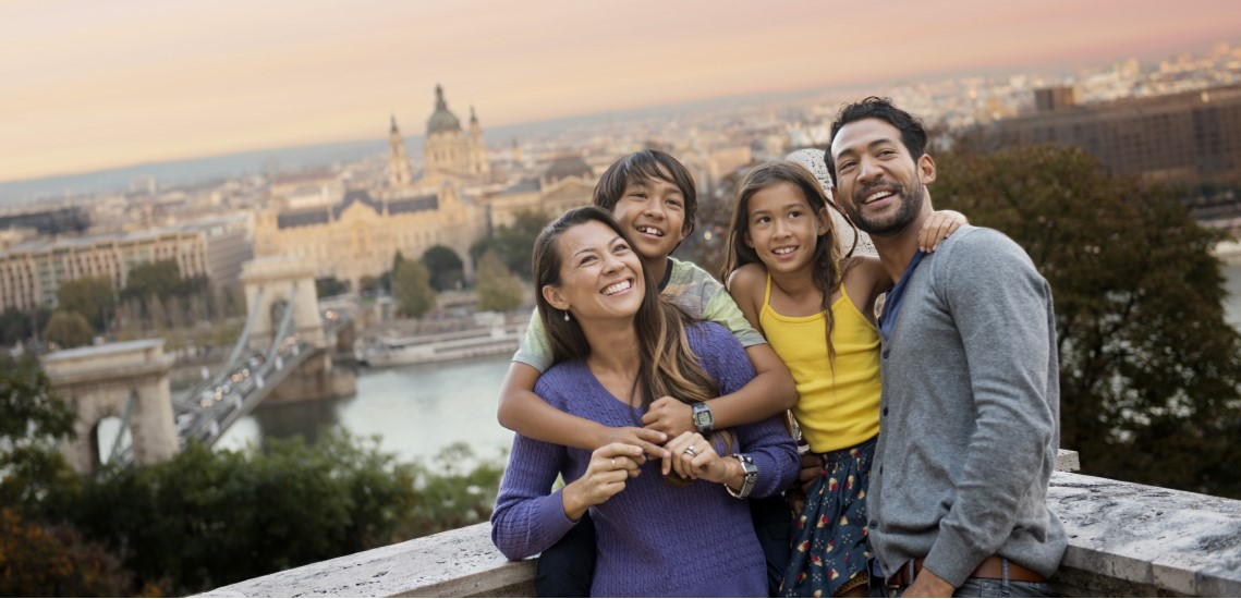 Family in Budapest