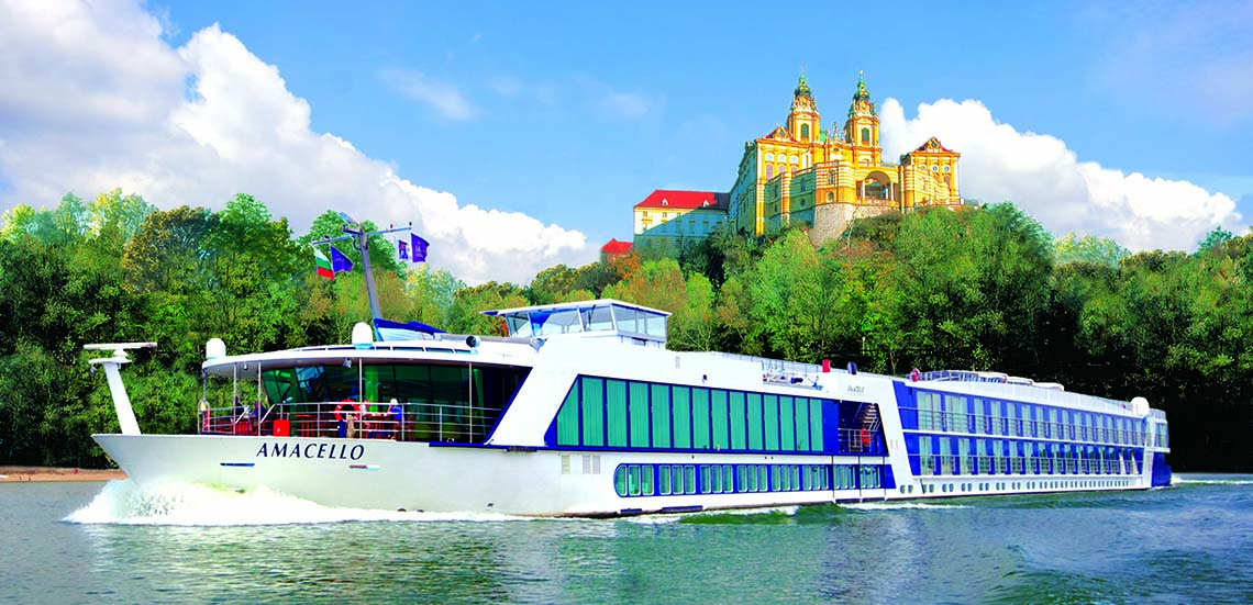 AmaWaterways river cruise in France