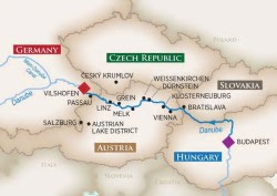 AmaWaterways Magna on the Danube River Cruise itinerary