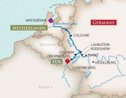 AmaWaterways Vineyards of the Rhine & MoselleRiver Cruise itinerary