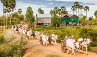 Angkor Ban town in Cambodia