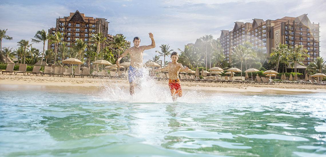 Beach at Aulani, a Disney Resort & Spa