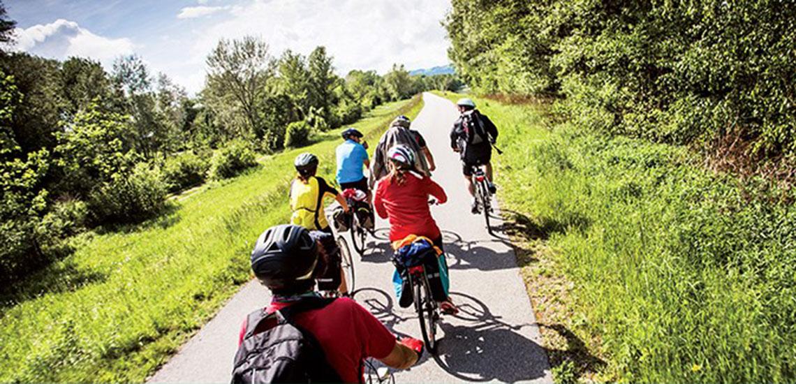 Avalon Waterways Active Discover biking excursion