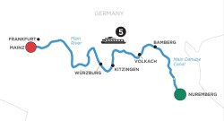 Heart of Germany River Cruise itinerary