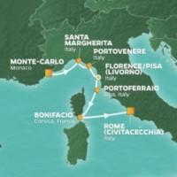 Azamara Club Cruises Italy Intensive Cruise Itinerary