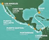 Panama Canal Voyage itinerary
