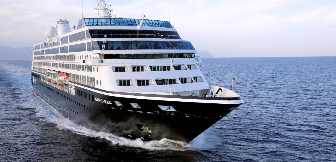 Azamara Quest at sea