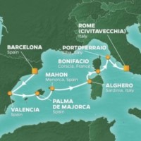 Islands of the Western Med Journey itinerary