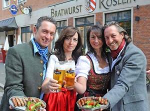 Bratwurst Roslein Restaurant in Nuremberg