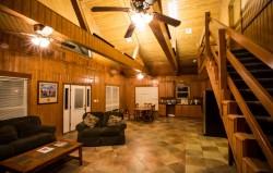 Cajun Fishing Adventures Lodge interior