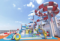 Carnival Horizon Seuss Water Works  rendering