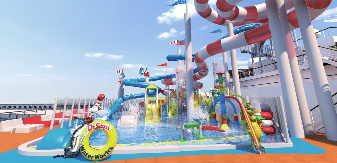 Seuss Water Works Aboard Carnival Horizon