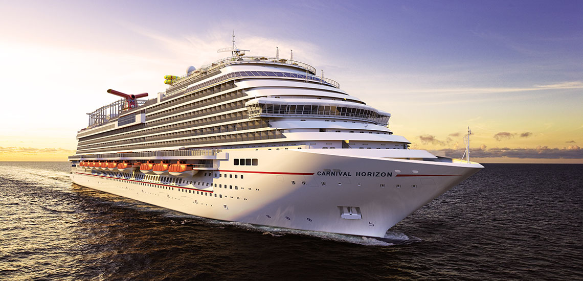 Carnival Horizon Digital Rendering