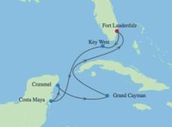 Celebrity Equinox Western Caribbean Cruise itinerary