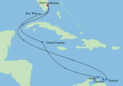 Celebrity Southern Caribbean Cruise itinerary