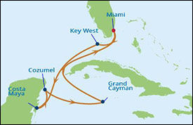 Celebrity Cruises Sails To The Caribbean All Year Long - West caribbean cruise