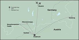 Christmas Markets of Austria & Germany itinerary