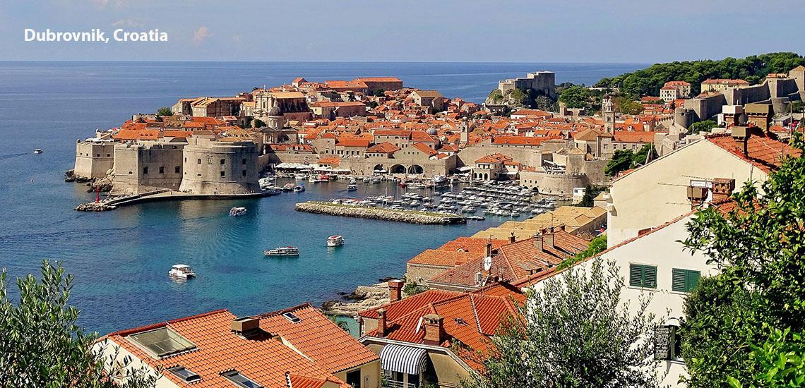 Croatia - Dubrovnik Old Town by sea
