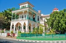 Colorful home in Cienfuegos, Cuba