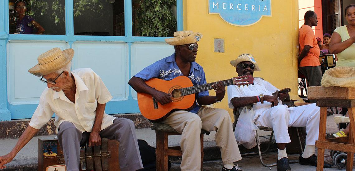 Havana, Cuba street musicians