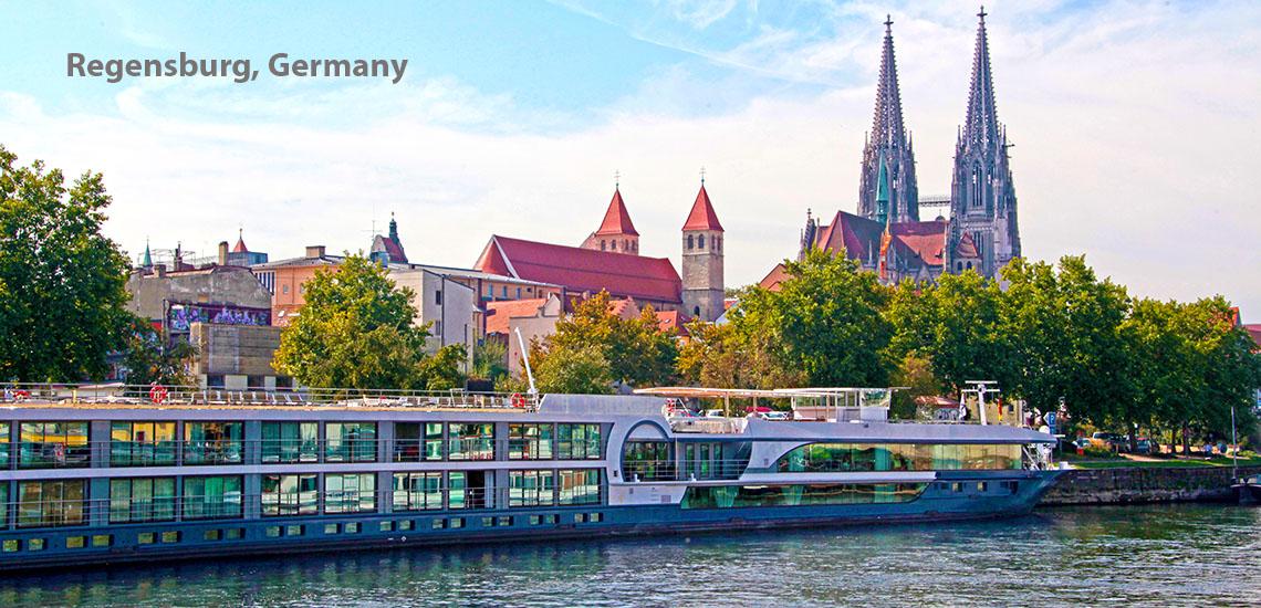 Danube River - Regensburg, Germany