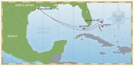 Disney Cruise Line Bahamas Cruise itinerary