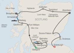 Bonnie Scotland itinerary