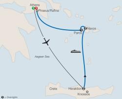 Globus Greek Island Adventure itinerary