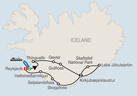 Globus Iceland Escorted Tour