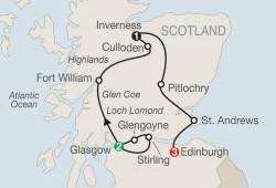 Scottish Escape itinerary