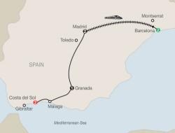 Globus Spectacular Spain itinerary