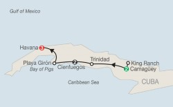 History & Culture of Cuba itinerary