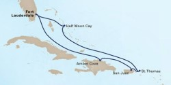 Eastern Caribbean Cruise itinerary