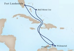 Southern Caribbean Cruise itinerary