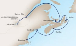 Canada & New England Discovery Cruise itinerary