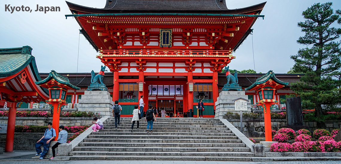 Japan - Kyoto - Fushimi Inari Taisha Shrine