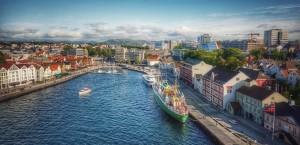 Stavanger cityscape