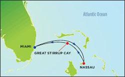 Norwegian Bahamas Cruise itinerary