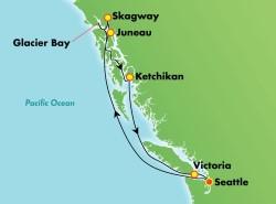Norwegian Bliss Alaska Inside Passage Cruise