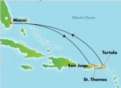 Norwegian Encore Eastern Caribbean Cruise itinerary