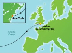 Norwegian Encore Transatlantic Cruise itinerary
