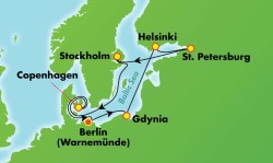 Norwegian Getaway Scandinavia, Russia & Baltic Cruise itinerary