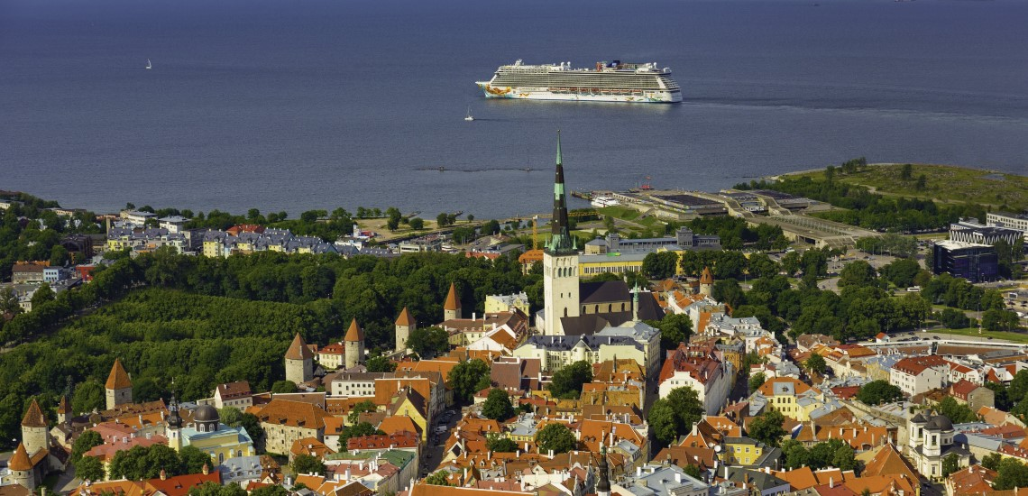 Norwegian Getaway at Tallinn, Estonia