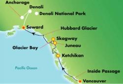 Norwegian Jewel Denali Explorer Cruise Tour
