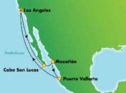 Norwegian Joy Jewels of Mexican Riviera Cruise itinerary