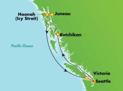 Norwegian Joy Alaska Inside Passage Cruise