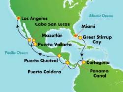Norwegian Joy Panama Canal Explorer Cruise itinerary