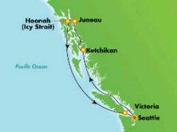 Norwegian Joy Scenic Alaska Cruise itinerary