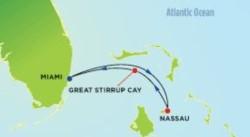Norwegian Sky Bahamas Cruise itinerary